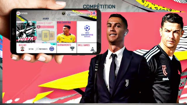 اخيرا تحميل لعبة FIFA 2020 للاندرويد اوفلاين باخر الانتقالات باتش بلايستيشن 4 نسخة خرافية