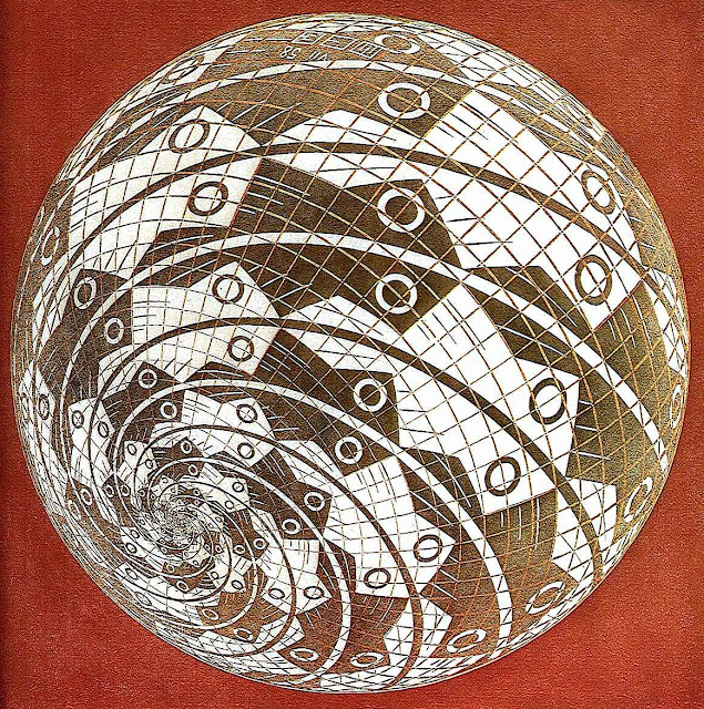 Maurits Cornelis Escher sphere