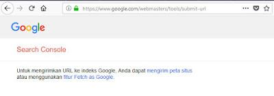 google submit url sudah dihapus google