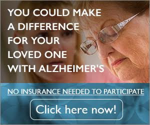 Alzheimer's Disease Study | Alzheimer's Reading Room