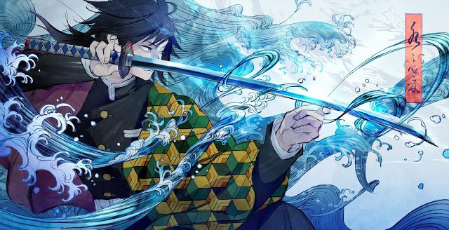 11 Teknik Pernafasan Air pada Anime Kimetsu no Yaiba