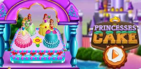 Game Princess Cake -  sweet trendy desserts maker