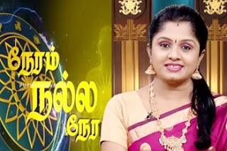 Neram Nalla Neram – Know your Astrology 27-04-2017 Puthuyugam Tv