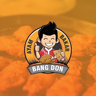 Desain Maskot Ayam Bakar Bang Don