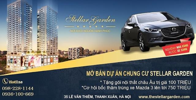 Khuyến mãi Mở bán dự án Chung cư Stellar Garden 35 Lê Văn Thiêm