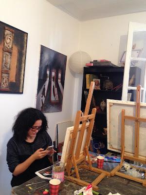 Les retrouvailles des artistes de l'atelier Artemisia 11