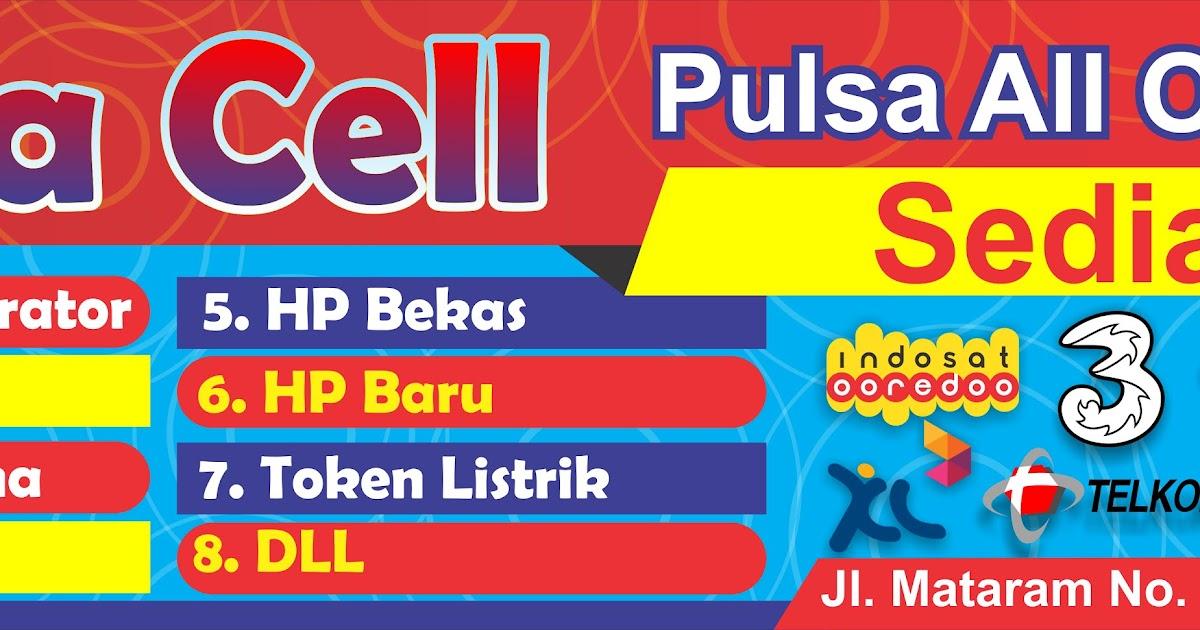 Unduh 5300 Background Banner Jual Pulsa HD Paling Keren ...