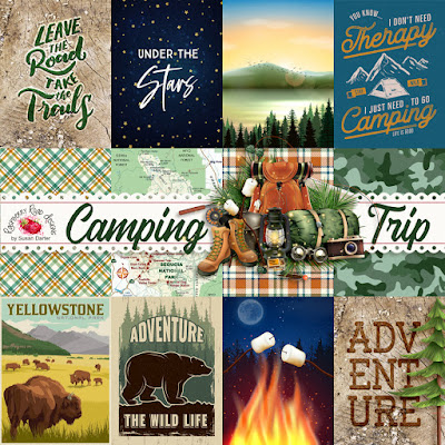Camping Trip Journal Cards