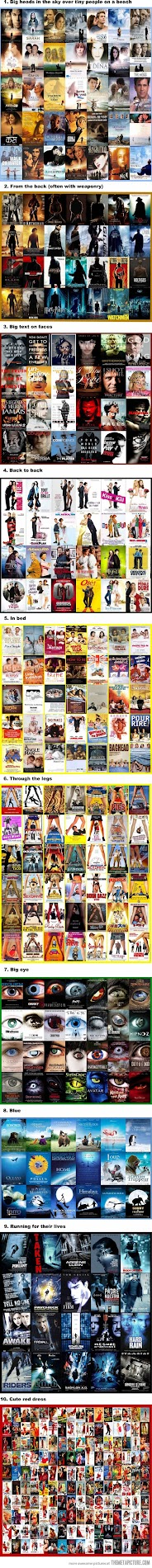 movie poster cliches