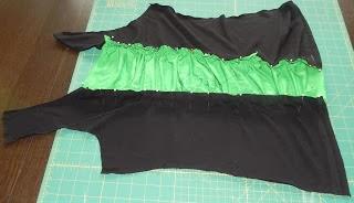 coser pieza central