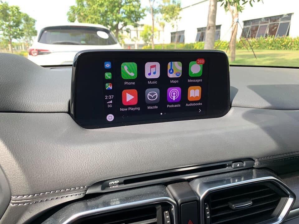 Kết nối Apple Carplay trên Mazda Cx8
