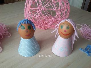 DIY Oeufs de Pâques décorés