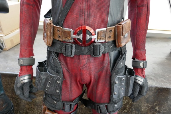 Deadpool 2 costume belt detail