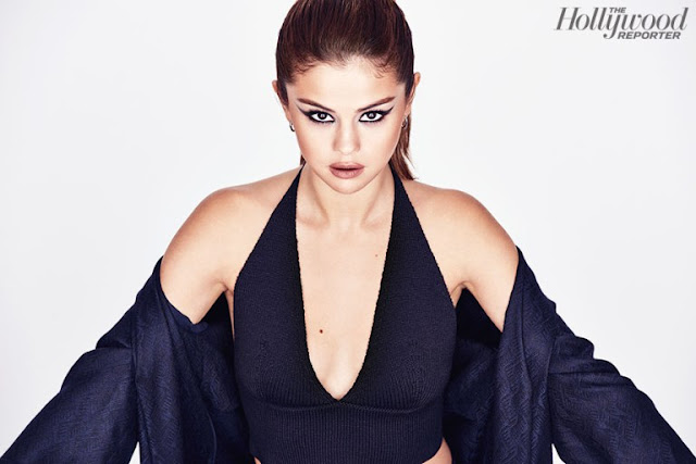 Selena Gomez es la portada de la revista The Hollywood Reporter.