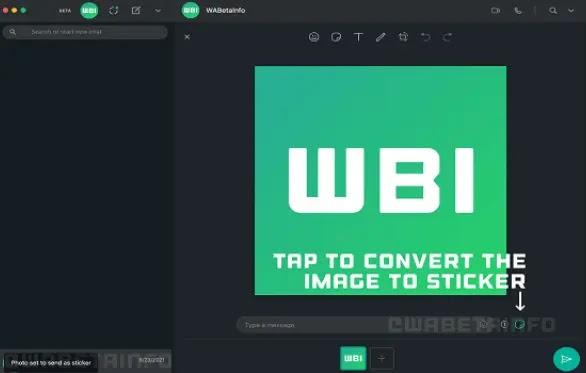 ميزة جديدة على واتساب إنشاء ملصقات من صورك