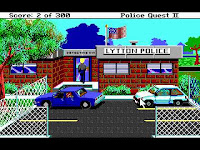 Videojuego Police Quest II The Vengeance