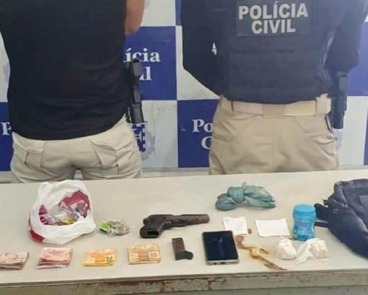 Operação em Jequié apreende arma, drogas e munições