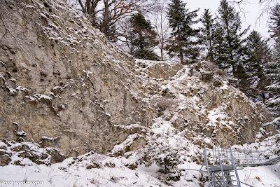 Imponujące formacje skalne
