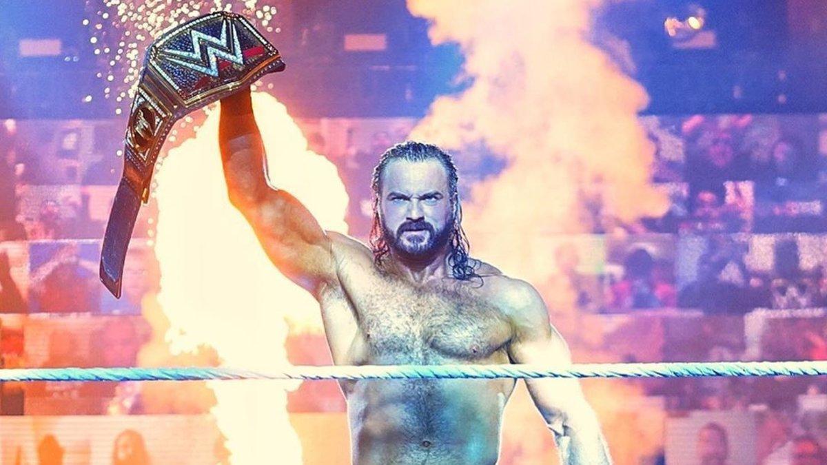 Motivo de Drew McIntyre ter ganho o WWE Championship antes do Survivor Series
