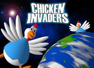 لعبة  Chicken Invaders الدجاج الغزاة