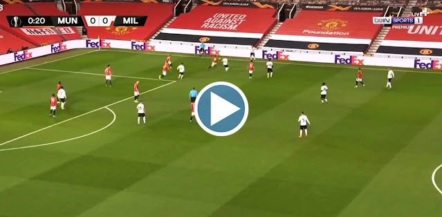 Manchester United vs Milan Live Score