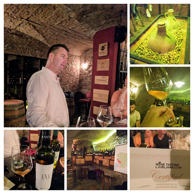 Things to do in Ljubljana Slovenia: taste Slovenian wines with Wine Tasting Ljubljana