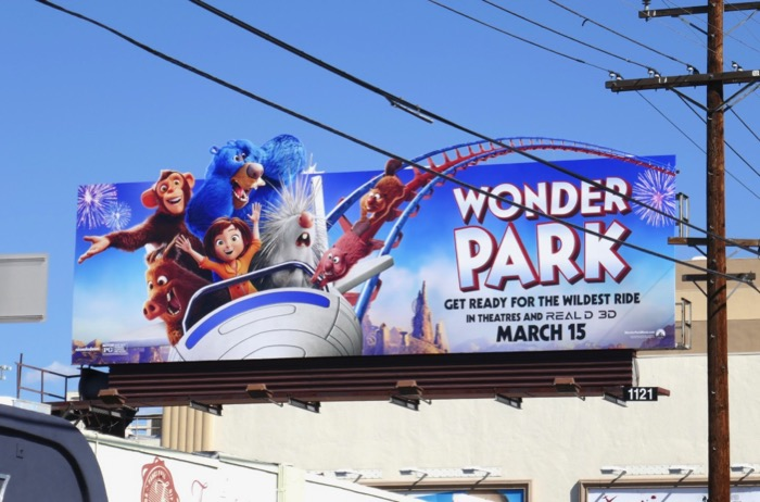 Wonder Park extension billboard