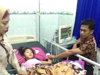 Terserang Penyakit Malaria, Puluhan Warga Marasende Kalmas Dilarikan Ke Makassar