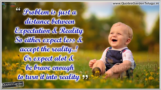 Best Inspirational Quotes about life expectations n reality