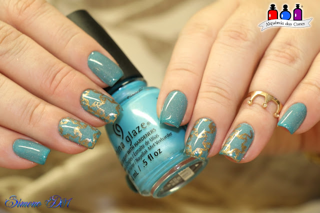 Dance Legend, Thermo Mutation. Bow, Teal, Térmico, Thermo, holográfico, China Glaze, What I Like about Blue, La Femme, Carimbo, cobre, Azul, Ombré, Degrade, Gradiente, Mony D07, LITE BRITES SUMMER 2016 COLLECTION, Ürban Chic, 06-01, Lite Brites Summer 2016 Collection, carimbada
