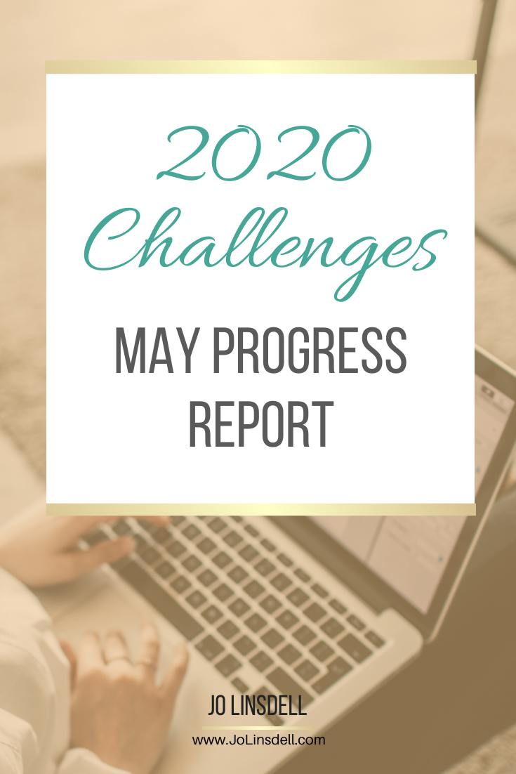 2020 Challenges: May Update #ProgressReport #Challenges