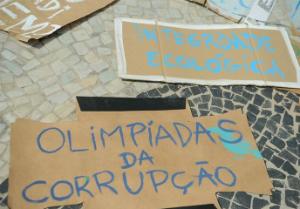 Justiça proíbe repressão a protestos pacíficos nas arenas olímpicas