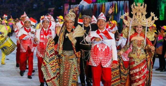 Kostum Indonesia di Olimpiade Brasil Memikat Dunia