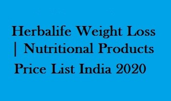 Herbalife Weight Loss | Nutritional Products Price List India