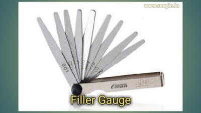 Filler Gauge