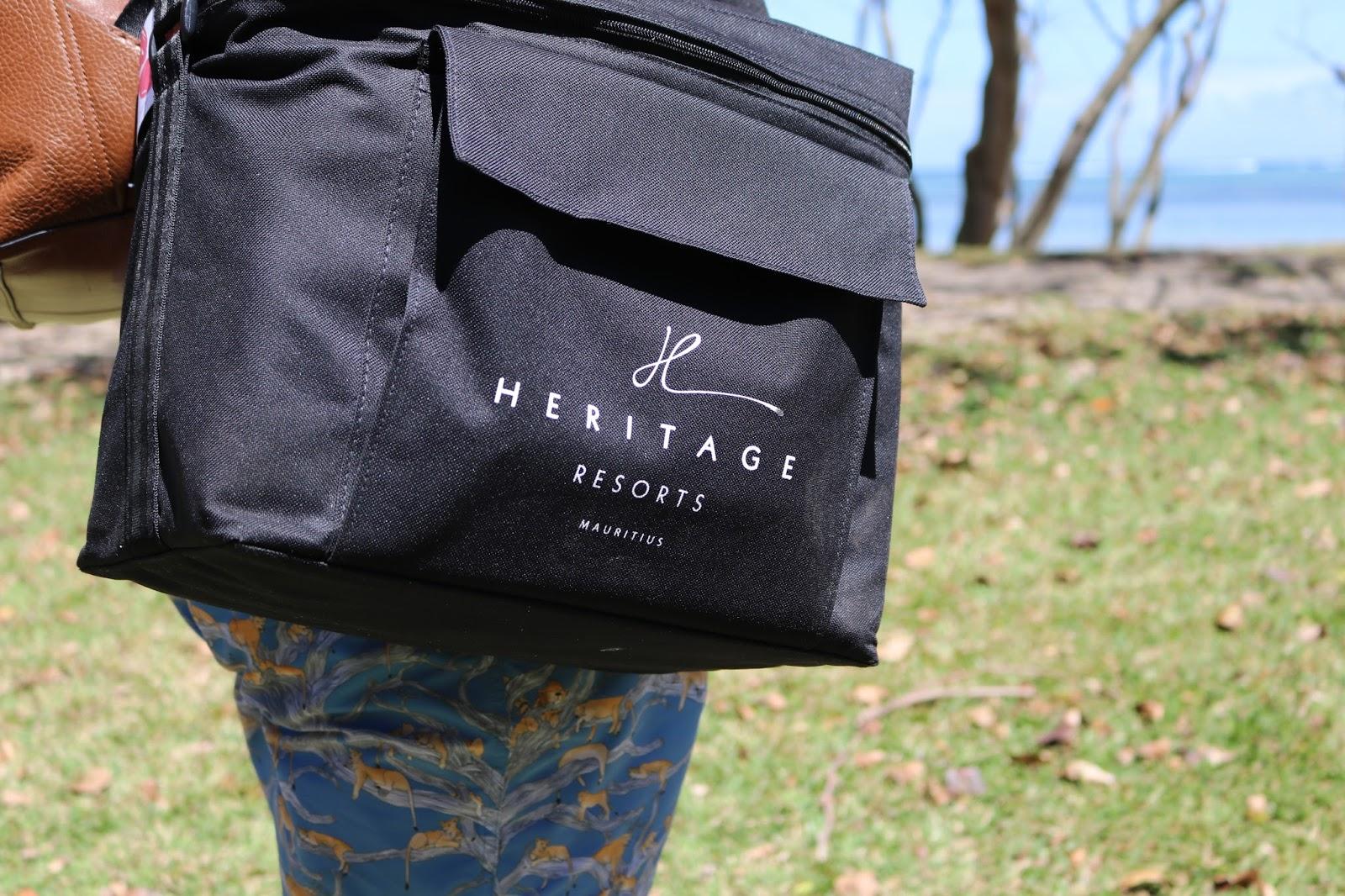 Picnic Bag, Heritage Le Telfair Hotel, Mauritius
