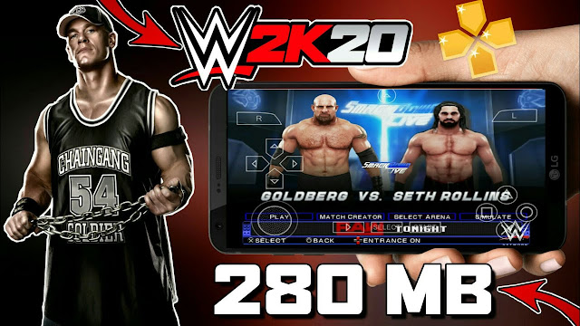 DOWNLOAD WWE 2K20 FOR ANDROID,WWE  2K20 DOWNLOAD