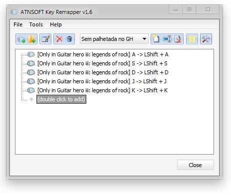 GH3] Jogar no teclado sem palhetar (auto-strum) - | MixMods | Mods