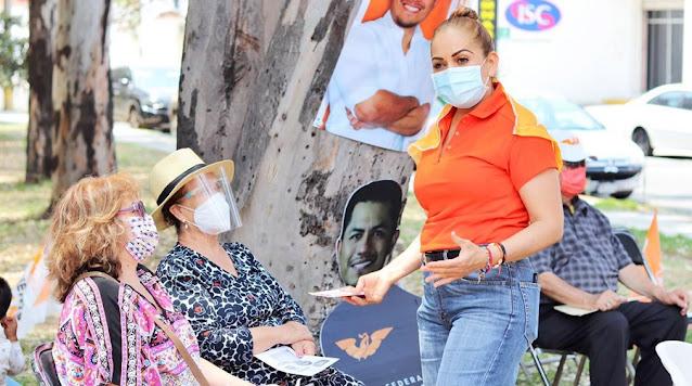 Patricia Rincón enfermera con vocación de servicio busca legislar en Puebla por tu salud y bienestar