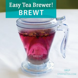 Brewt tea brewer from Steeped Tea