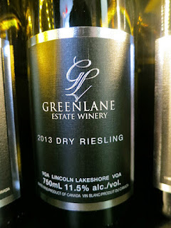 Greenlane Dry Riesling 2013 (89 pts)