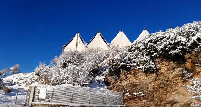 Εκπληκτικό βίντεο με χιονισμένο τον Ναό του Επικούριου Απόλλωνα