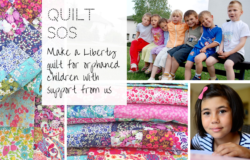 Alice Caroline ~ Quilt SOS project.