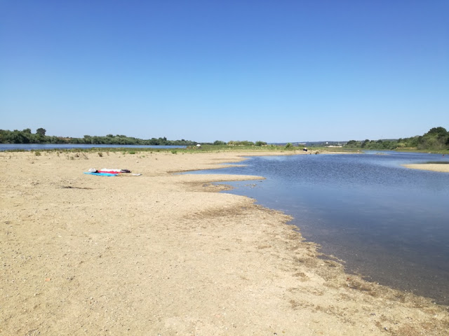 Areal da Praia fluvial da Chamusca