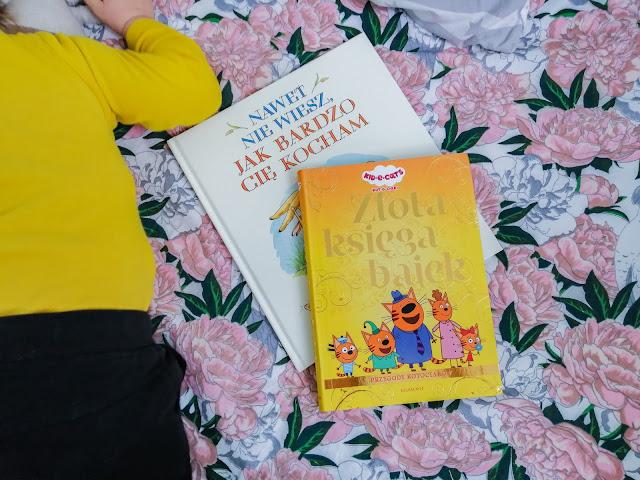 Czytam dziecku   Złota księga bajek oraz Nawet nie wiesz jak bardzo Cię kocham