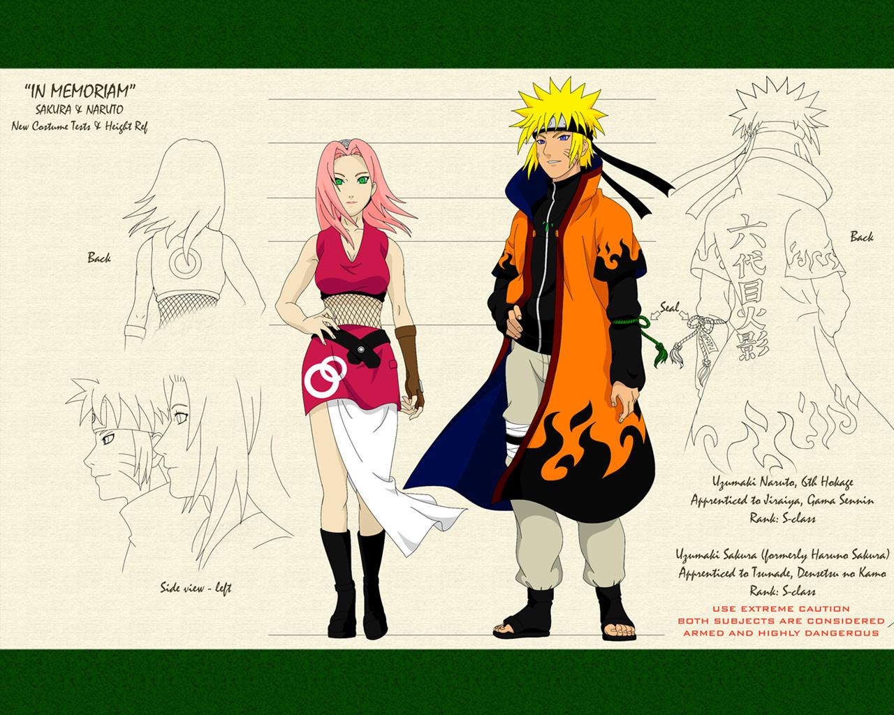 Naruto and Sakura Hokage Naruto Shippuden Wallpapers on this NarutoNaruto Shippuden Naruto And Sakura Kiss