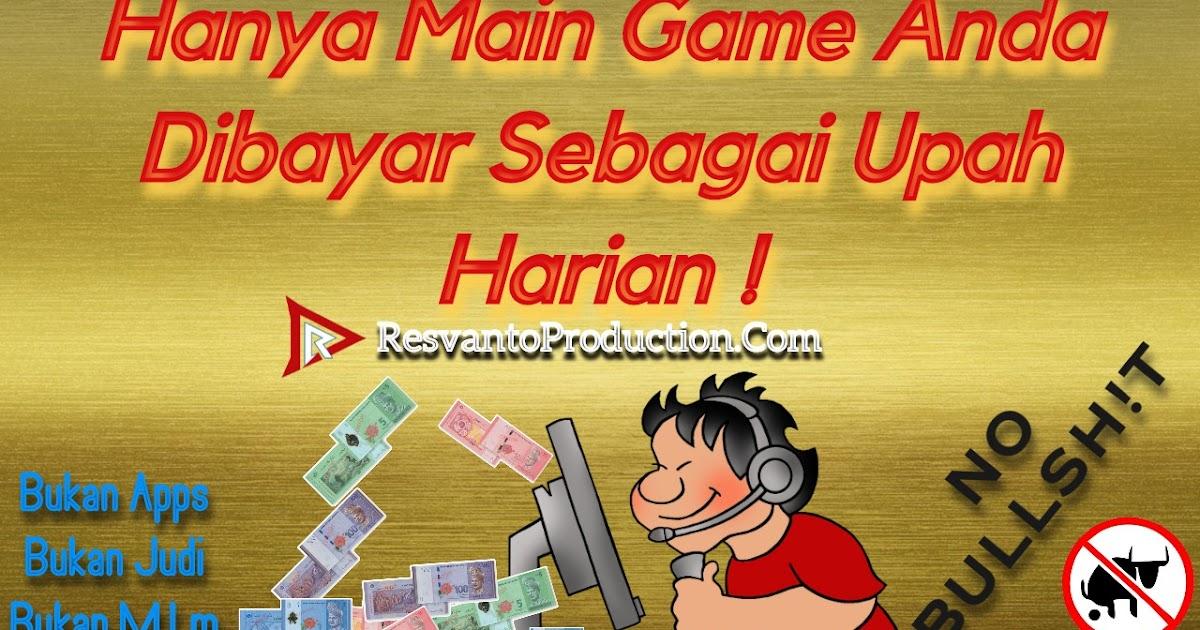 Main Game Dapat Duit Jana Pendapatan Dengan Hanya Bermain