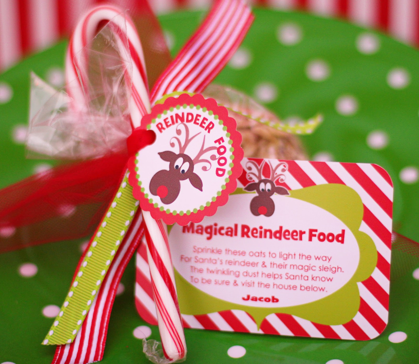 Reindeer Food Poem Printable Tags Christmas Craft Ideas Year 4