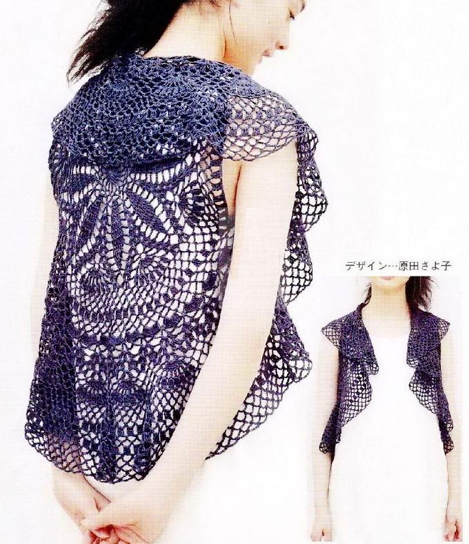 Crochet Circular Bolero