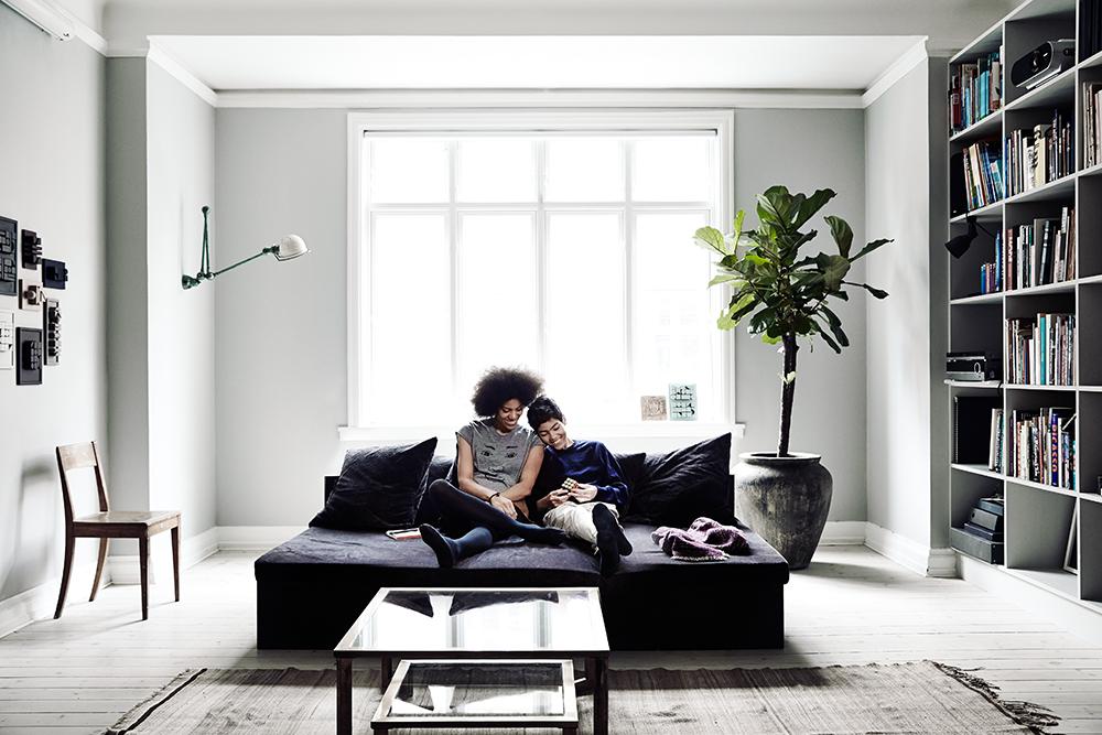 Del nuovo numero di kinfolk home e uno degli articoli che spicca la casa della designer yvonne - Casa copenaghen ...